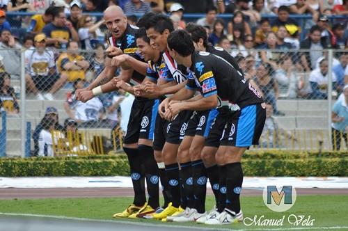 DSC_0625 Pumas UNAM derrota 4-1 al Puebla FC por LAE Manuel Vela