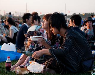 Hanabi couple (Firework couple) | by RageZ