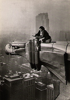 Margaret Bourke-White - Metaphotography on the Chrysler Building | by Cea.
