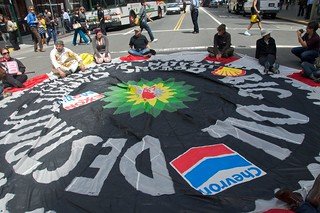 Make Big Oil Pay march to Chevron, EPA & BP 387
