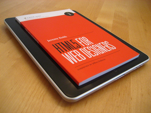 HTML5 For Web Designers on the iPad | by adactio