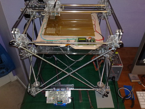 Heated Bed: Kapton Tape   by newmanufactory