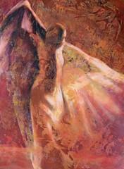 """2010. május 27. 16:35 - Szentgyörgyi Erika festőművész """"Flamenco"""" című kiállítása"""