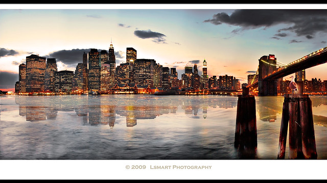 NYC from Brooklyn Heights