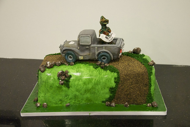 off road truck cake