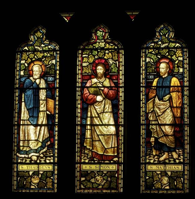 St. Thaddeus; St Simon; St Matthias