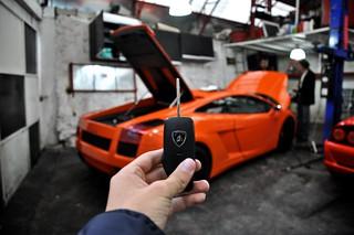 Lamborghini Gallardo Key Angel Alvarez Flickr
