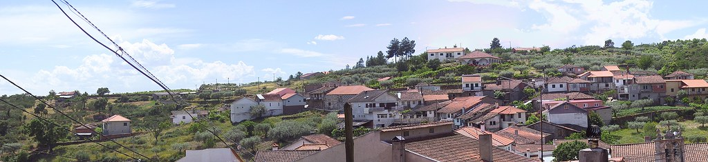 Panorama - Vale das Fontes, as seen from Rua da Alegria by Frans Harren