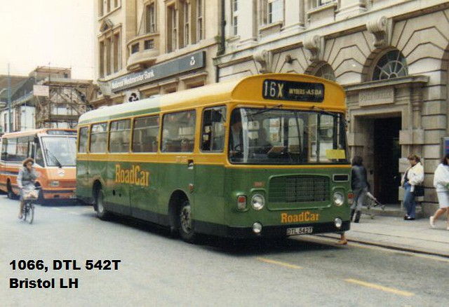 1066, DTL 542T, Bristol LH, ECW Body B43F, 1978, (t.1988)