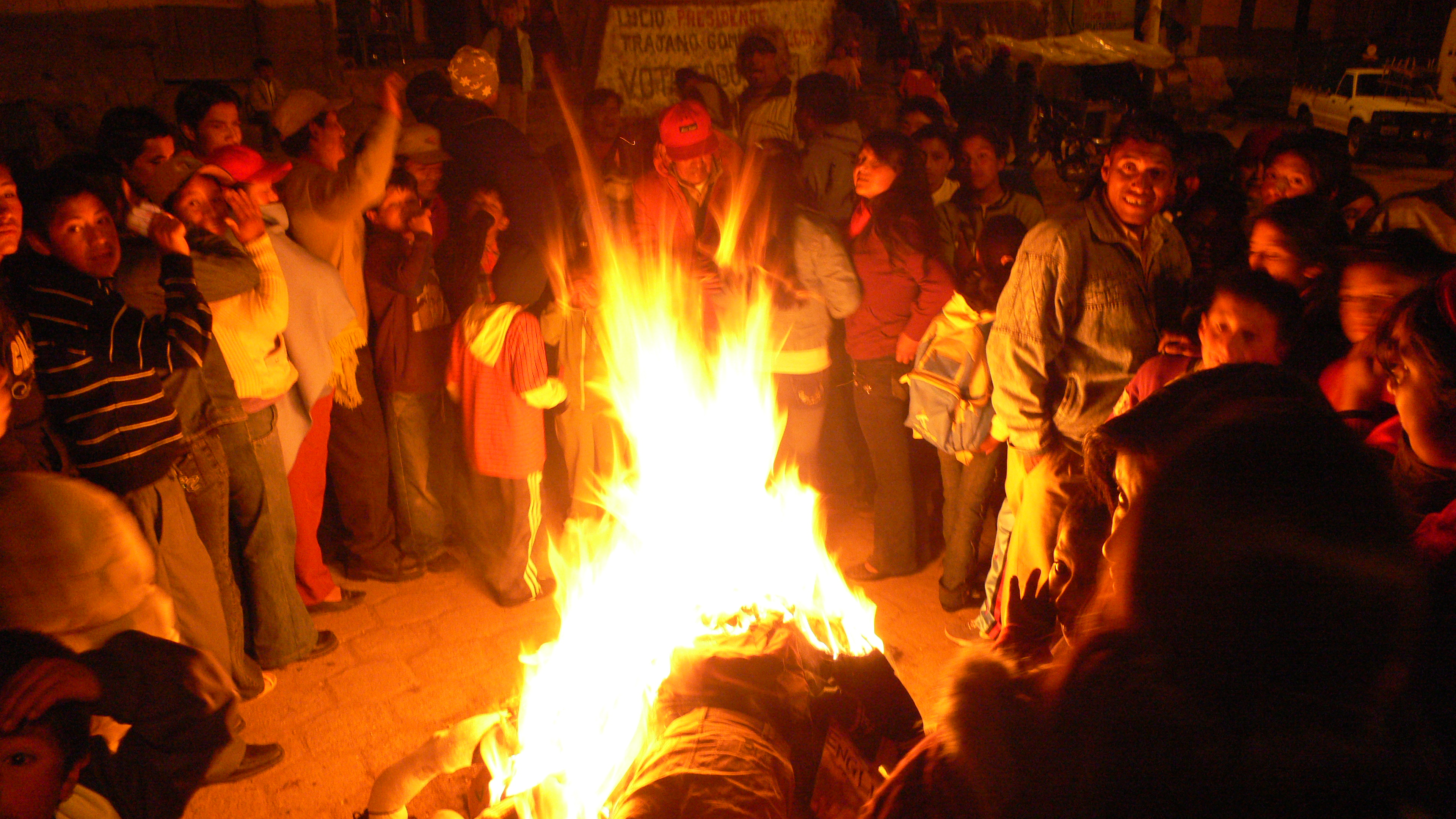 Ecuador: New Years Eve - 2009 - 2010