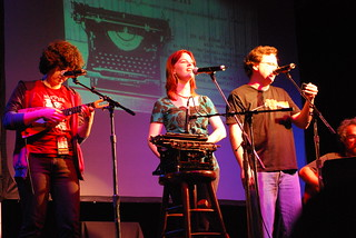 Molly Lewis, Marian Call, Paul, Scott Barkan | by Genevieve719