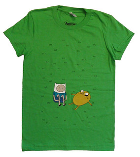 Adventure Time T-shirt, Juniors' | by Fred Seibert