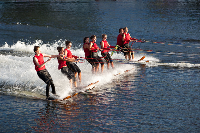 U.S. Water Ski Show Team - Scotia, NY - 10, Aug - 21