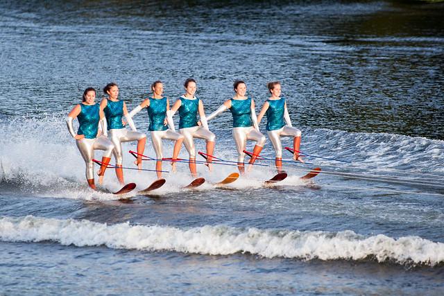 U.S. Water Ski Show Team - Scotia, NY - 10, Aug - 08
