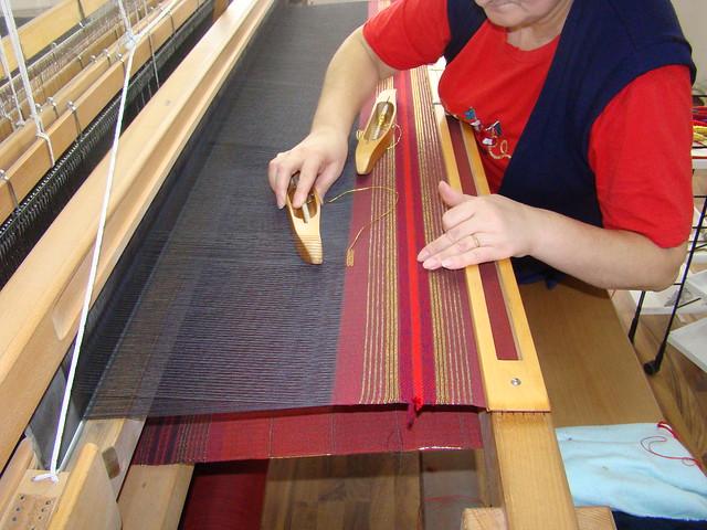 Handweaving Inlay Design