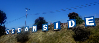 Oceanside Sign Aligned Towards the Harbor/Ocean | by JoeInSouthernCA