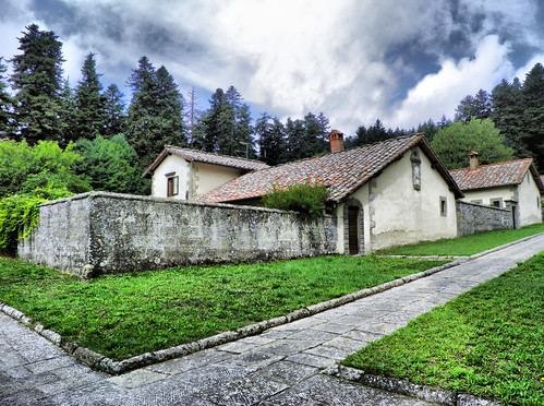 Eremo di Camaldoli - Toscana - HDR | by doctormauri73 - amateur photographer