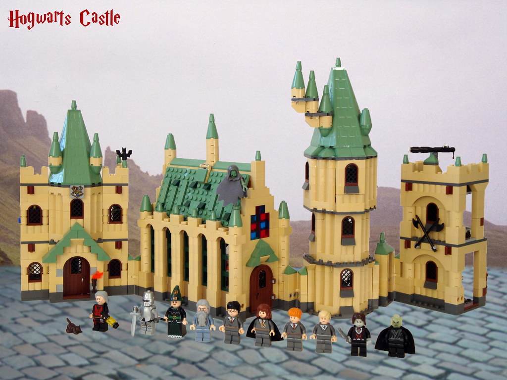 couponcodes presenteren nieuw kopen LEGO Harry Potter 4842 Hogwarts - Castle & Figs   Our heroes ...