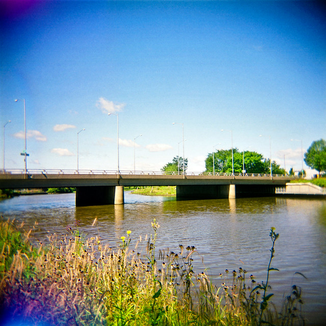 Holga & le pont Dorchester