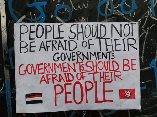 People Should Not Be Afraid of Their Governments, Governments Should Be Afraid of Their People   by RamyRaoof