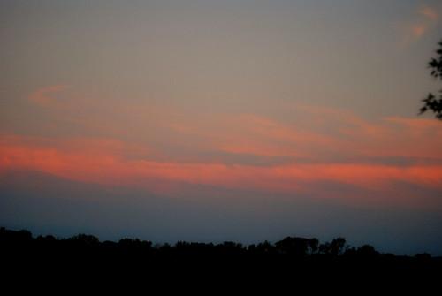 sunset ohio summer clouds nikon dusk d60 stoutsville