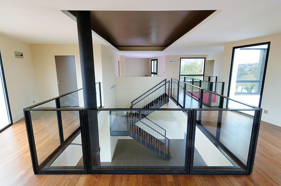 Escalier contemporain - Mons | www.atelier-benoit-herouard.f ...