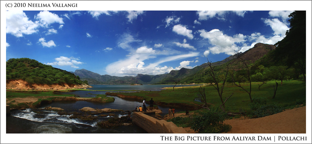 Aaliyar Dam - The Big Picture! by Neelima V