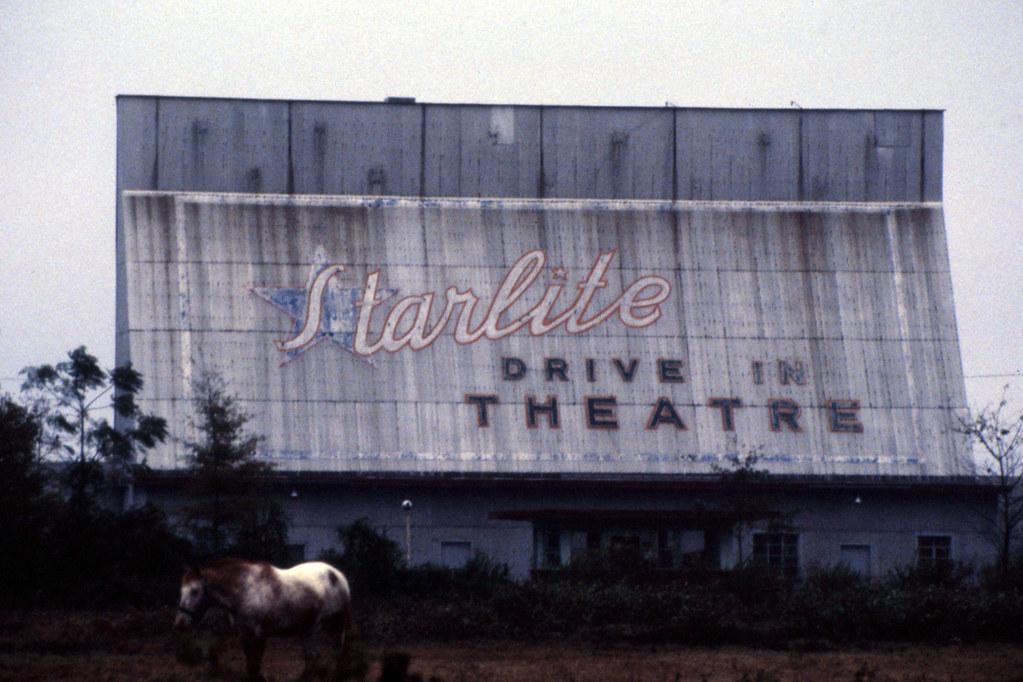 Starlite Drive In Theatre Wilson Nc 1991 Torn Down In 2 Dean Jeffrey Flickr