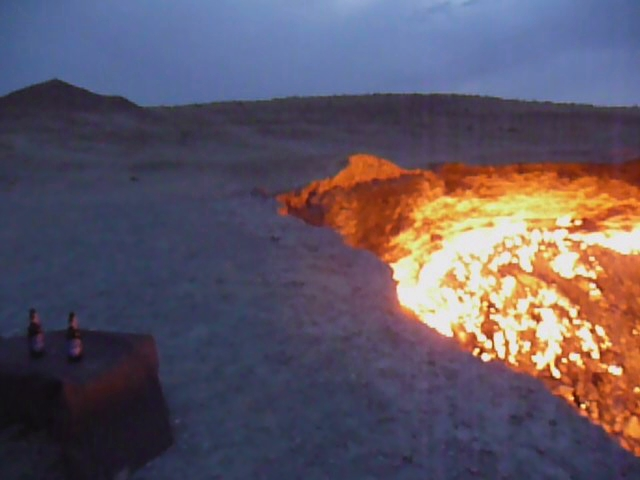 Darvaza gas crater