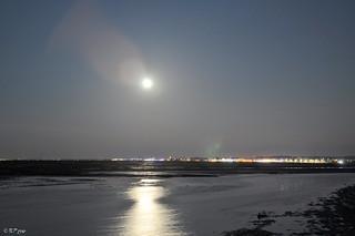 Pleine Lune sur Arcachon 2