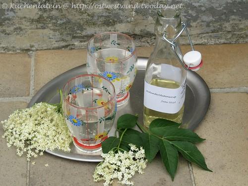 Rezepte mit Holunderblütensiruphier im Blog