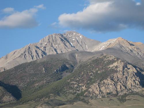 Borah Peak the evening before our climb.