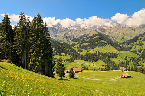 Switzerland is beautiful
