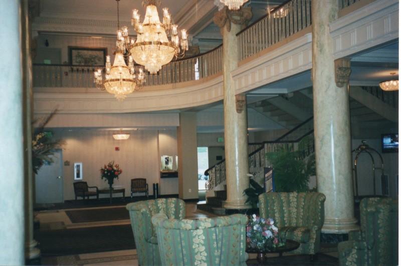 Utica Ny Hotel Utica Historic Hotel Lobby Area The