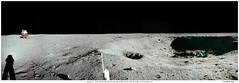 Apollo 11 East Crater Panorama by NASA Goddard Photo and Video