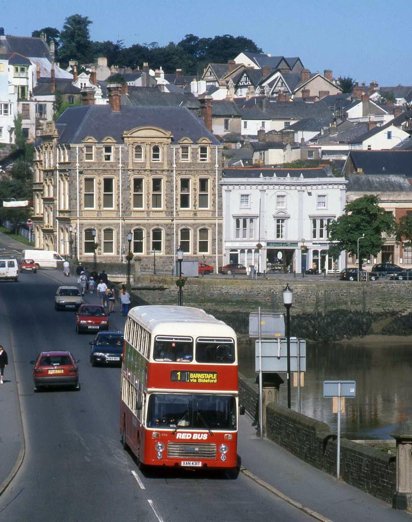 Red Bus in Bideford