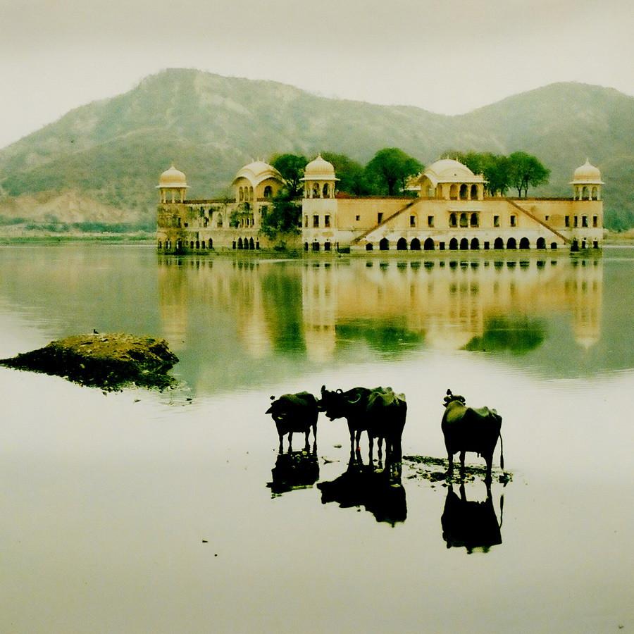 Дворец на воде. Индия Great reflections. Джайпур.