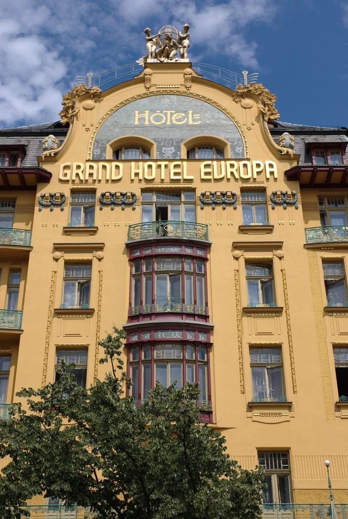 Grand Hotel Europa Prague Rannuge Flickr