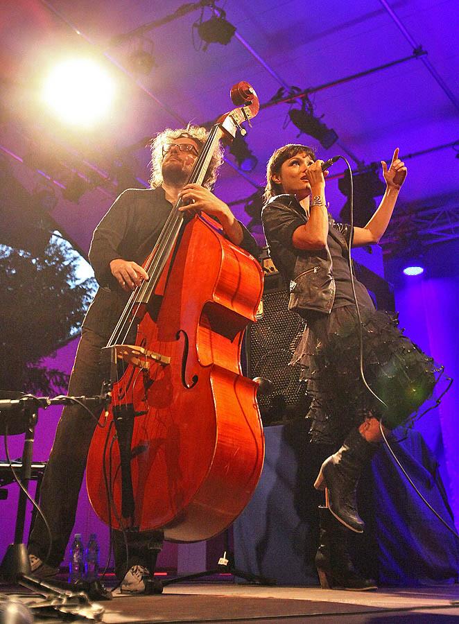 STIMMEN 2010 - Rosenfelspark - Musica Nuda & Webe3