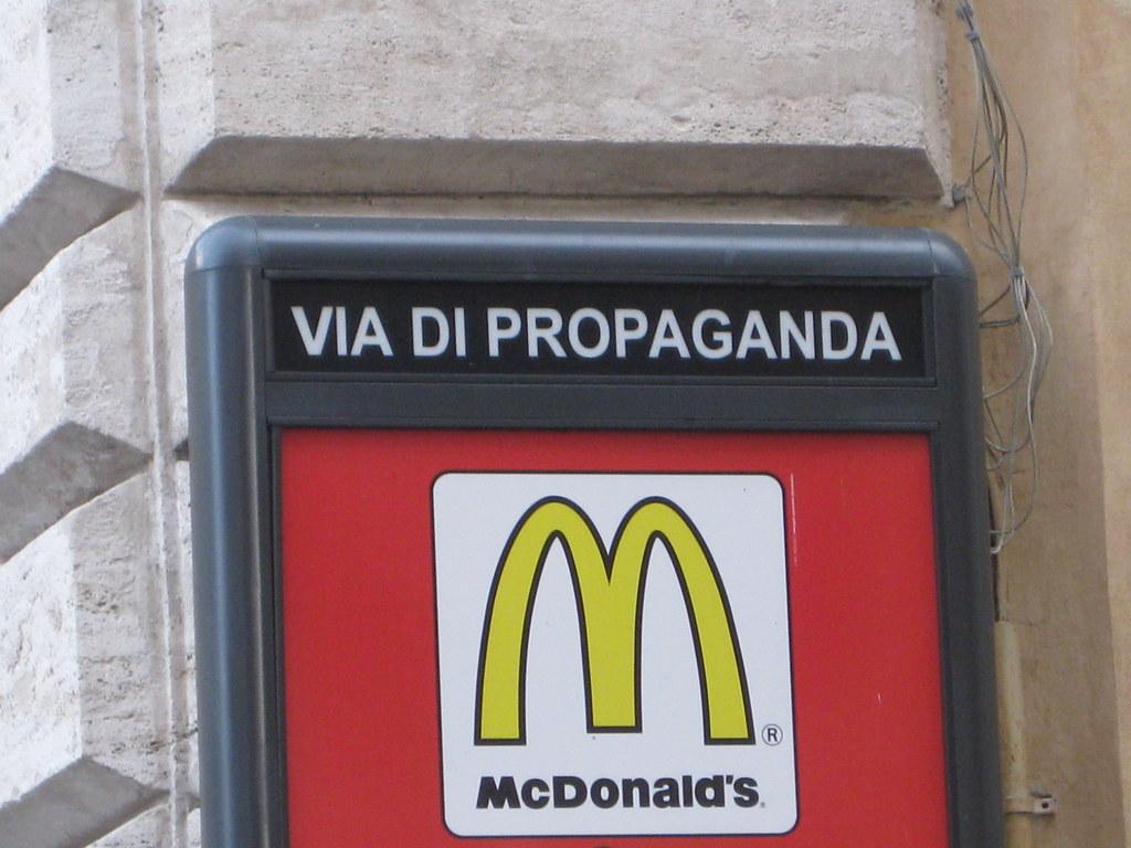 McDonald's Propaganda