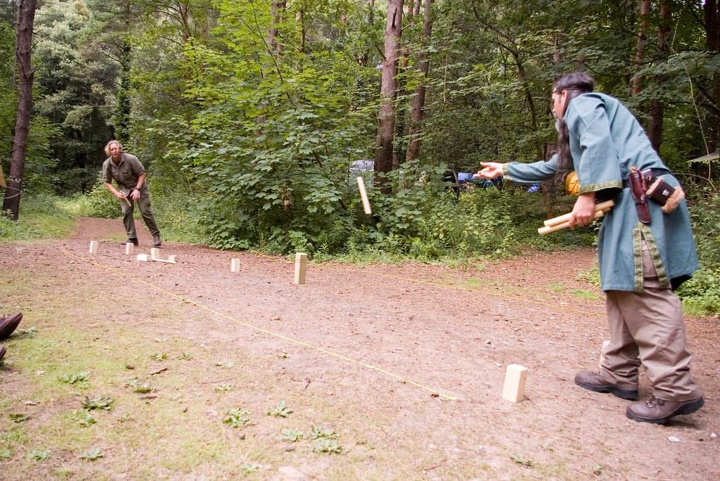 Vikings camp- Kubb