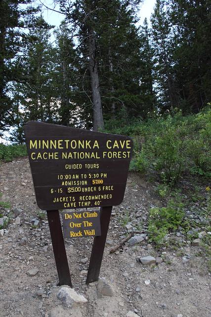 Entrance to Minnetonka Cave