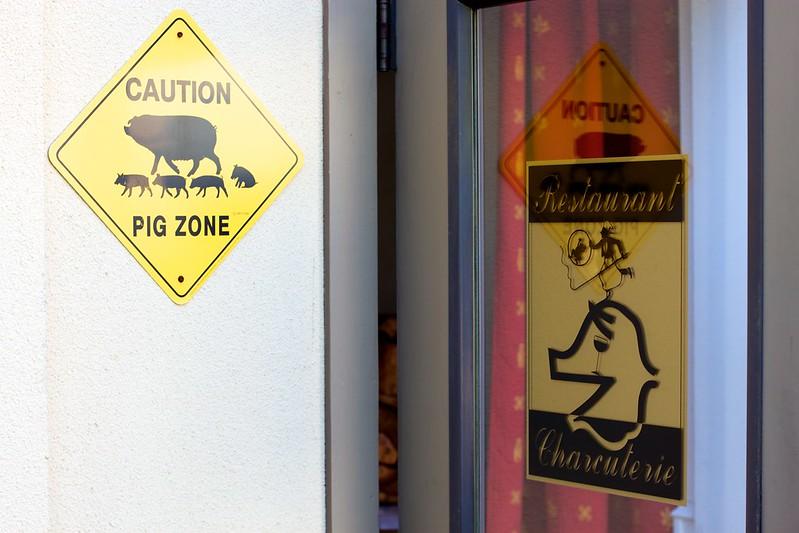 Healdsburg Charcuterie signs