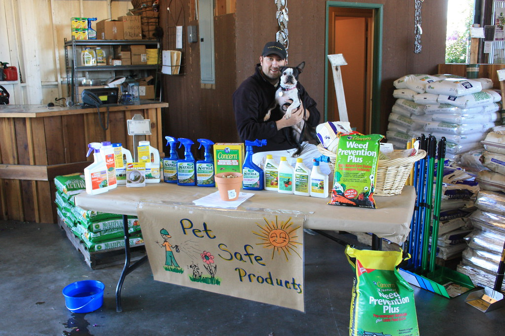Cole with Maggie and Pet Friendly Products | Green Acres Nursery and