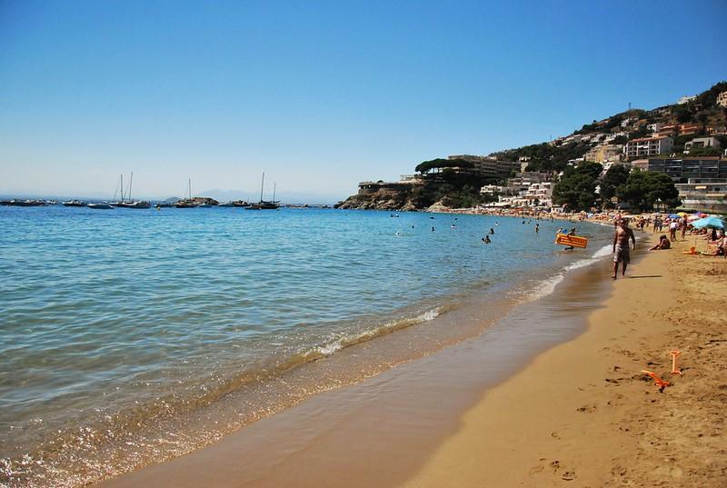 Playa de L'Almadrava, Roses (Girona)