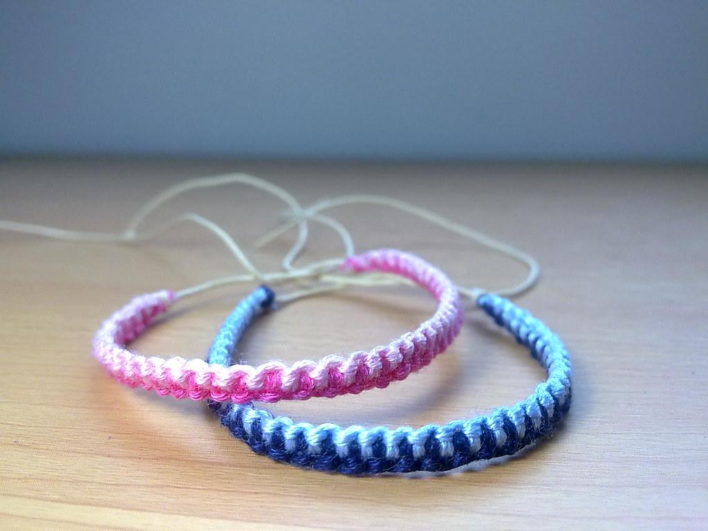 acheter bien comment acheter Nouveaux produits Thin Friendship Bracelets | KalisteBracelets | Flickr