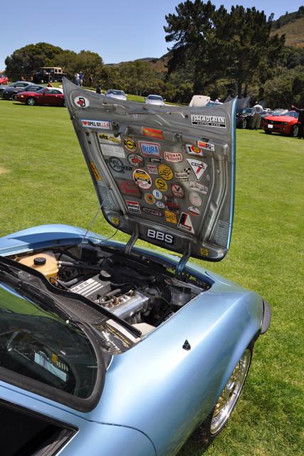 Opel GT hood
