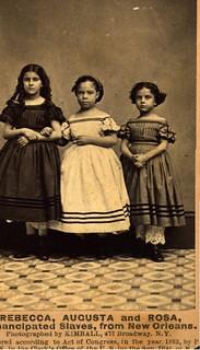 The Emancipation of Rebecca, Augusta & Rosa | 1863. | by Black History Album