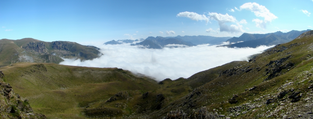 Andorra senderismo desde Puerto de Envalira a El Tarter