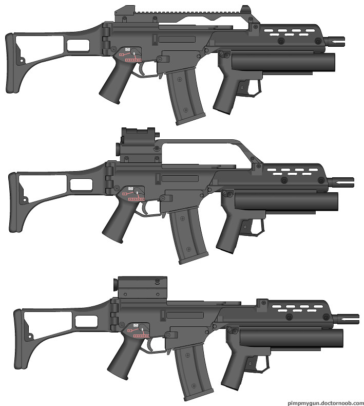 G36 Carry Handle